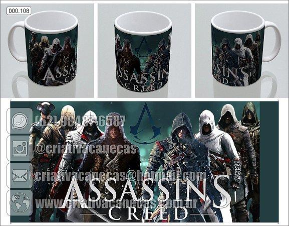 Caneca - Assassins Creed