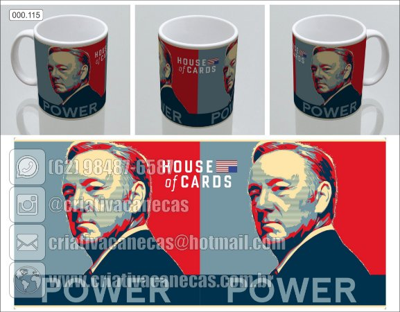 Caneca - House Of Cards