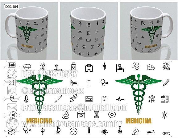 Caneca - Medicina