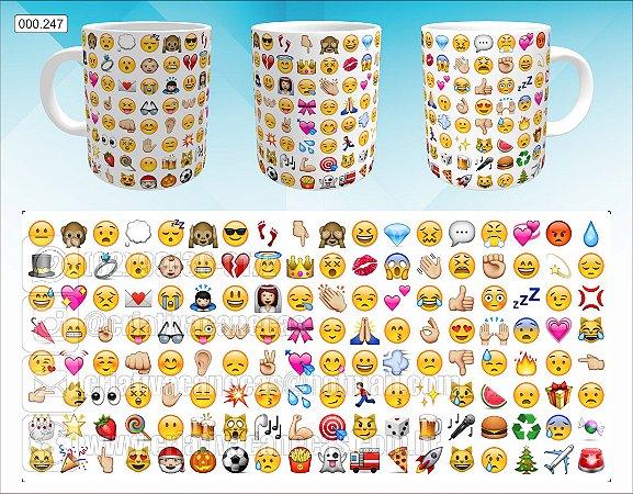 Caneca - Emojins