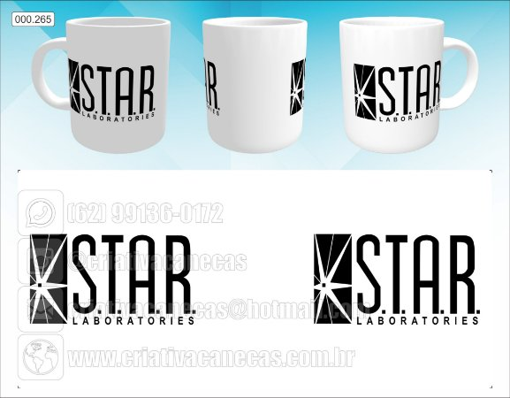 Caneca - Star Laboratories