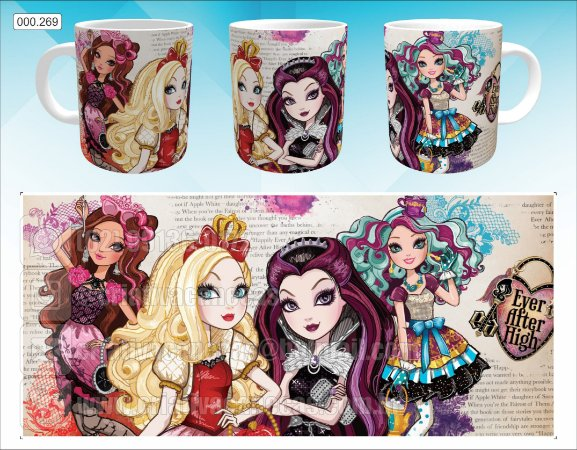 Caneca - Ever After High