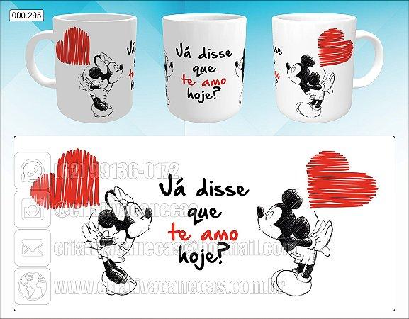 Caneca - Mickey e Minnie