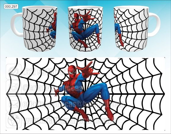 Caneca - Homem Aranha