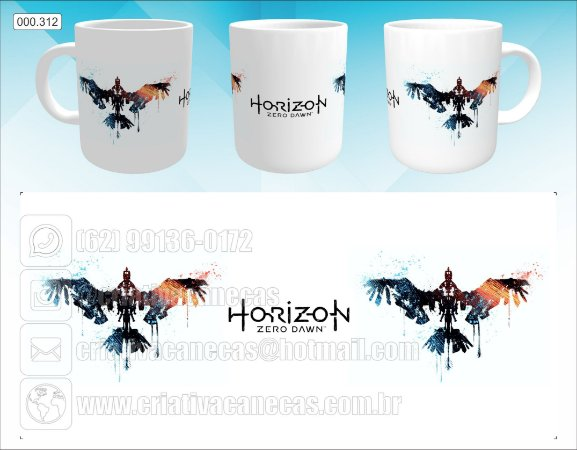 Caneca - Horizon Zero Dawn