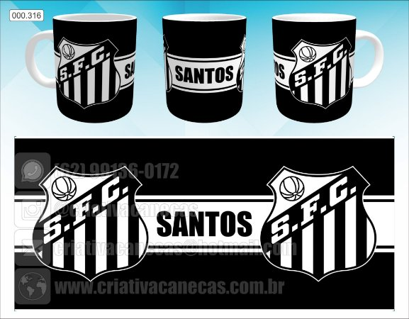 Caneca - Santos