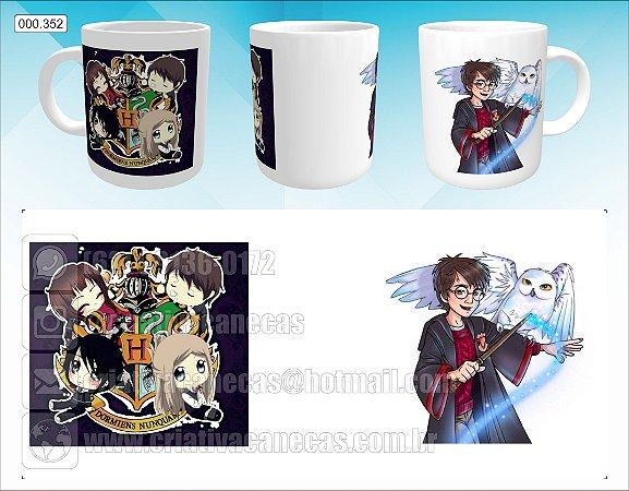 Caneca - Harry Potter - Desenho
