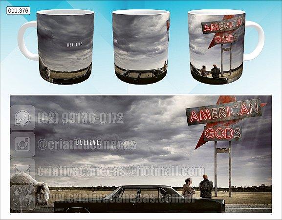 Caneca - American Gods
