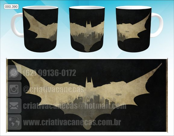 Caneca - Batman - Arkham Knight