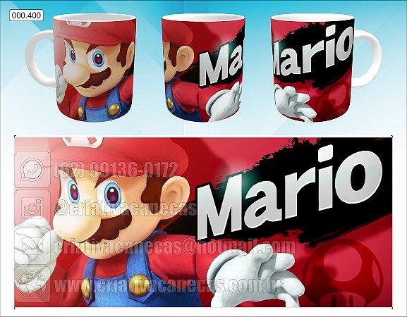 Caneca - Mario