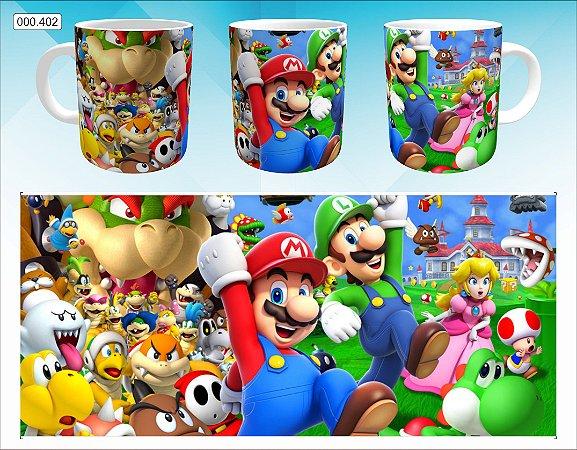 Caneca - Mario - Personagens