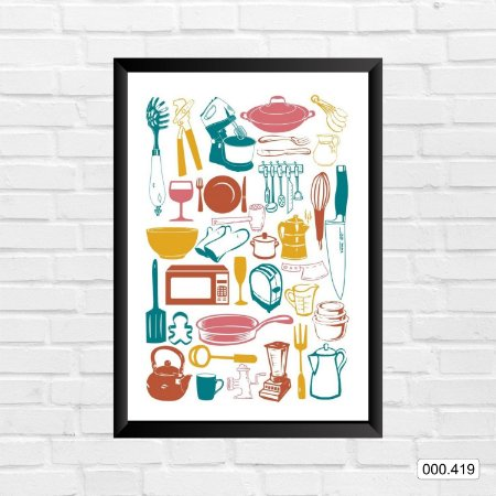 Quadro - Cozinha