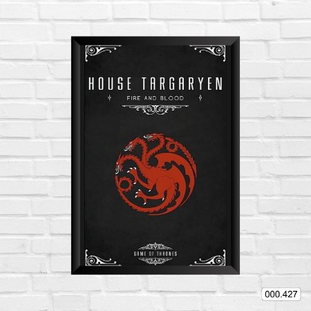 Quadro - Game Of Thrones - House Targaryen