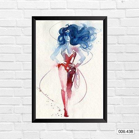 Quadro - Mulher Maravilha Arte