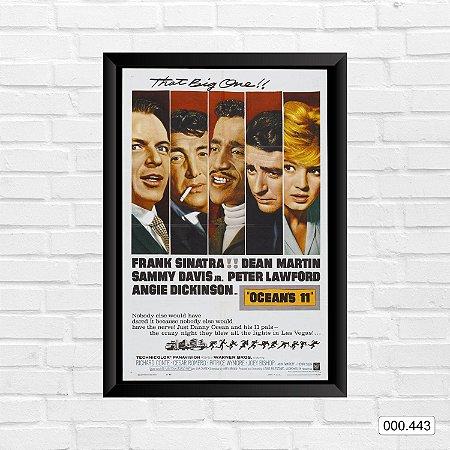 Quadro - Ocean's 11 - Frank Sinatra, Dean Martin, Sammy Davis Jr.
