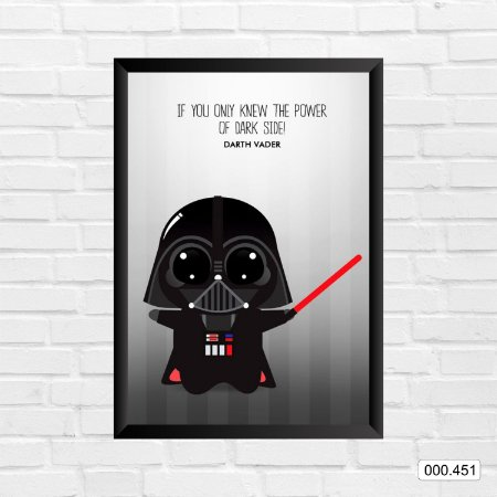Quadro - Star Wars - Darth Vader Cartoon