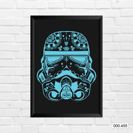 Quadro - Blue Stormtrooper