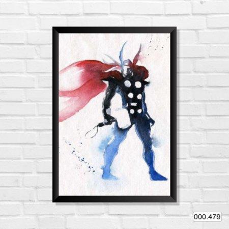 Quadro - Thor, Arte