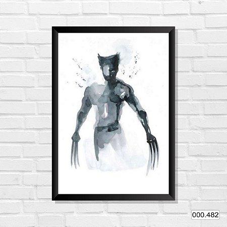Quadro - Wolverine, Arte