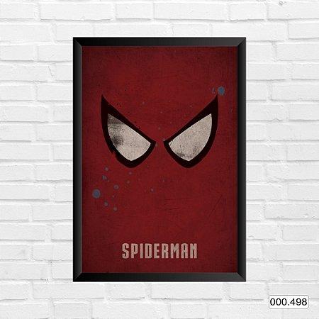 Quadro - Homem-Aranha, Arte vermelha