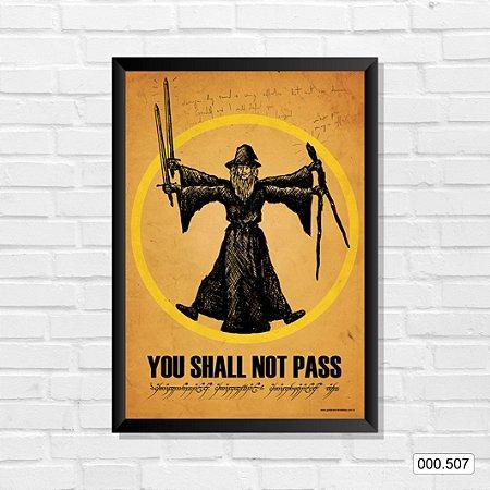 Quadro - You Shall Not Pass
