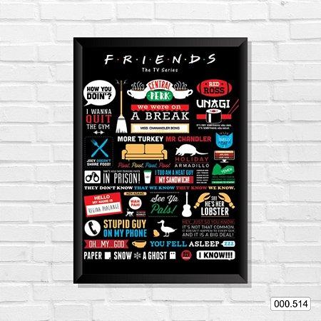 Quadro - Friends - The Tv Series