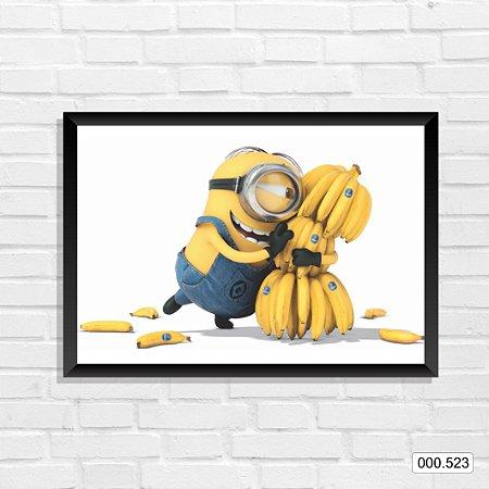 Quadro - Minions - Banana