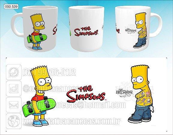 Caneca - Bart Simpson, Tattoo