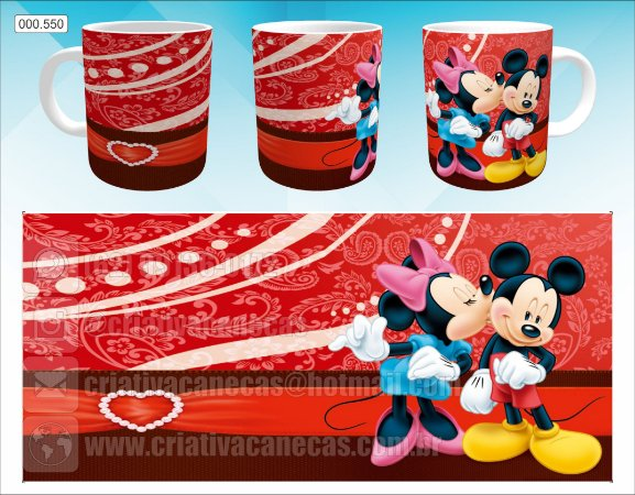 Caneca - Minnie & Mickey