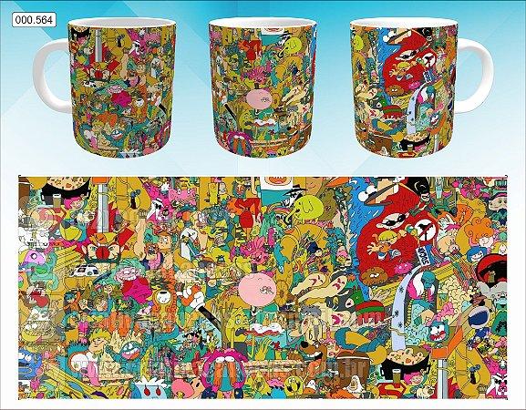 Caneca - Cartoon Network - Personagens