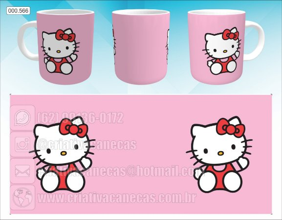 Caneca - Hello Kitty