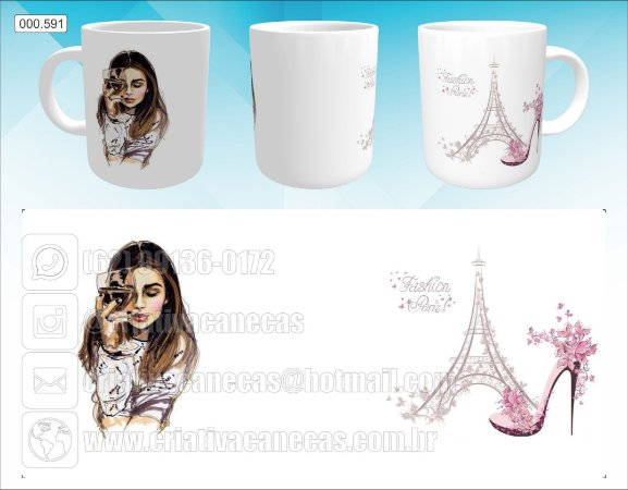 Caneca - Fashion Paris