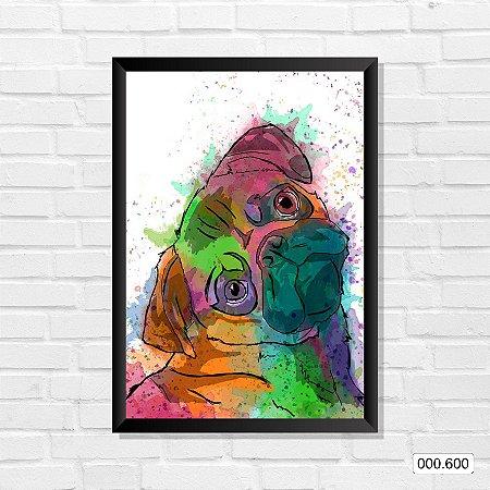 Quadro - Cachorro, Arte 03