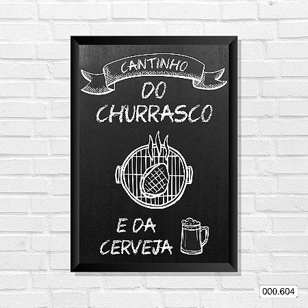 Quadro - Cantinho do Churrasco