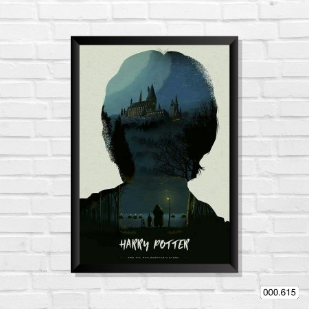 Quadro - Harry Potter - Filme 01