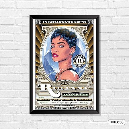 Quadro - Rihanna - Valley View Casino Center