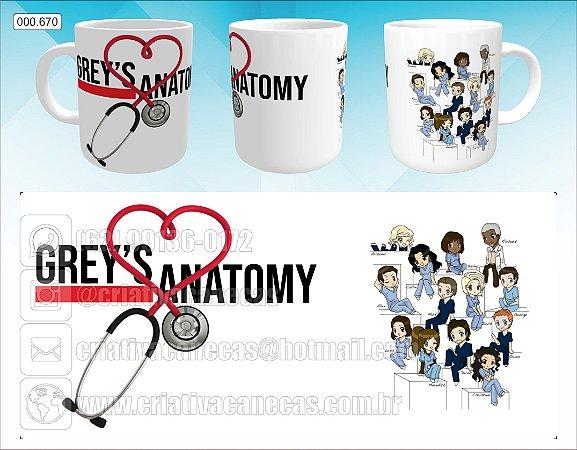 Caneca - Greys Anatomy - Esteto