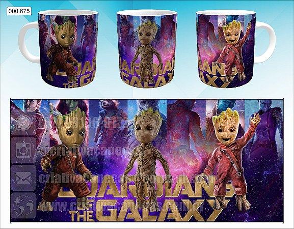 Caneca - Guardiões da Galáxia - Groot 2