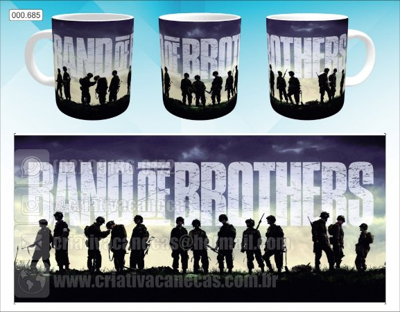 Caneca - Band Of Brothers