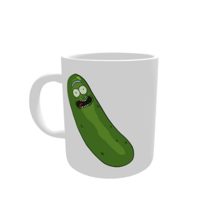 Caneca - Rick and Morty, Pickle Rick 4