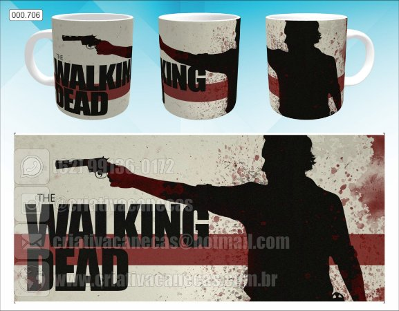 Caneca - The Walking Dead, 2