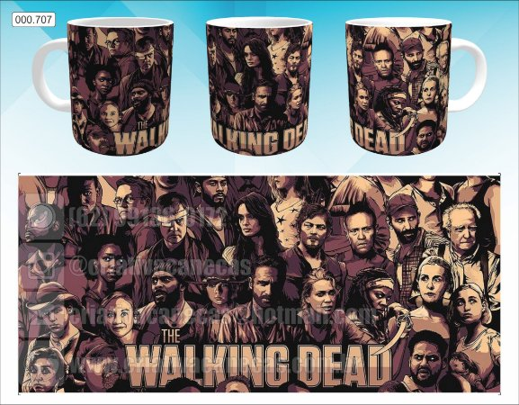 Caneca - The Walking Dead, 3