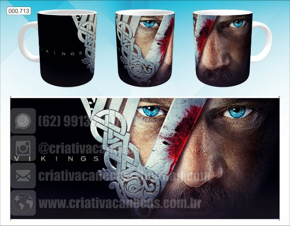 Caneca - Vikings