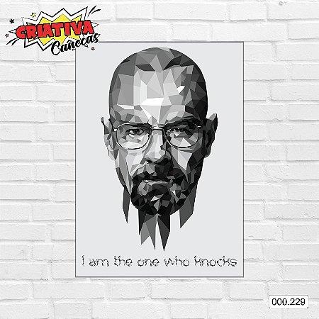 Placa decorativa - Breaking Bad - Walter White