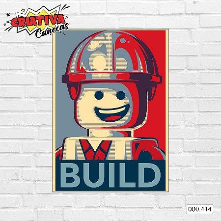 Placa decorativa - Build