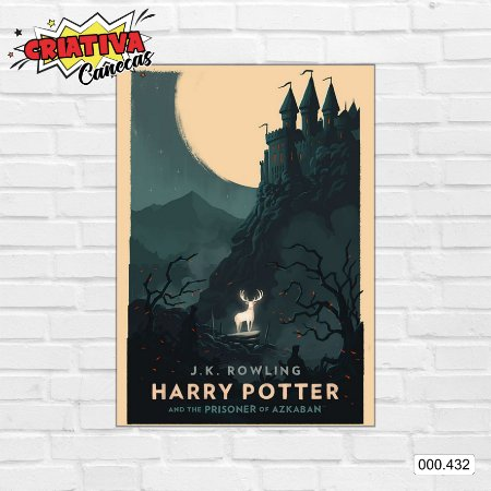 Placa decorativa - Harry Potter e o Prisioneiro de Azkaban