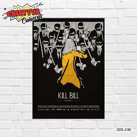 Placa decorativa - Kill Bill