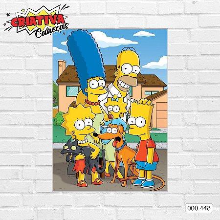 Placa decorativa - Simpsons