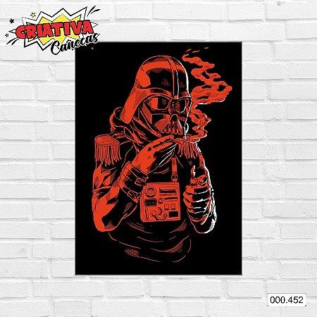 Placa decorativa - Star Wars - Darth Vader, color