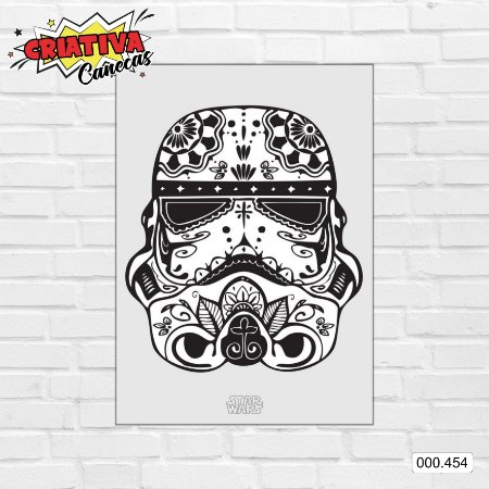 Placa decorativa - Star Wars - Stormtrooper